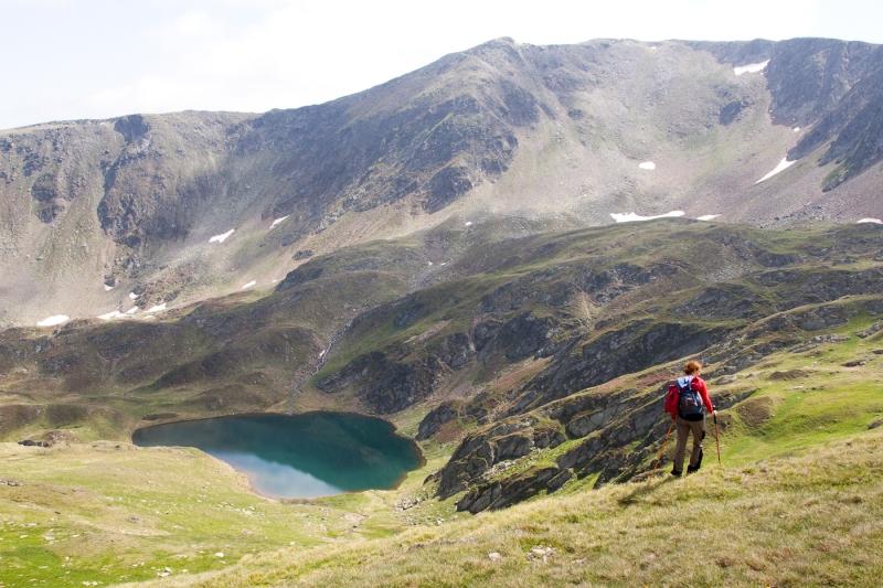 Vf Moldoveanu_019_Lac in Caldarea Galbena 1